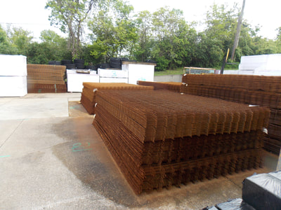 Con-Quip has wire mesh sheets available, as well as rolls, rebar, smooth dowels and custom fabrication of rebar.