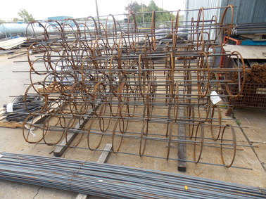 Custom rebar fabrication available at Con-Quip